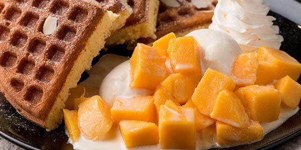 манго с выпечкой