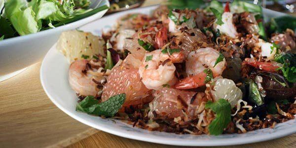 тайский салат с помело