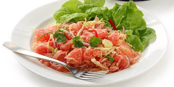 вьетнамский салат с помело