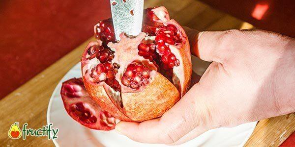 вырезаем сердцевину