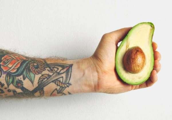 авокадо для спортсменов