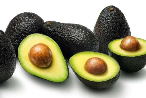 черный авокадо