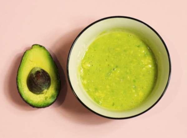 масса из авокадо