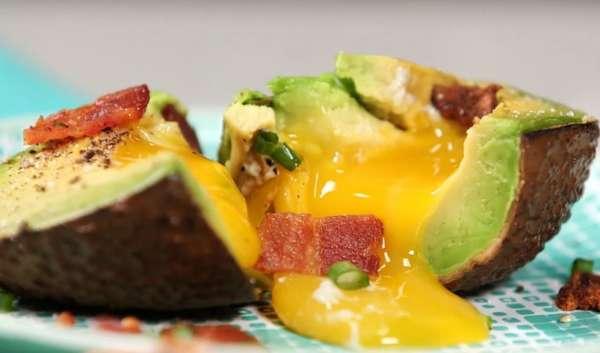 десерт с авокадо