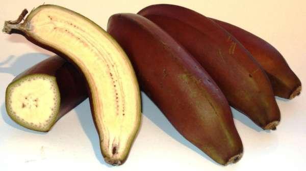 банан на разрезе
