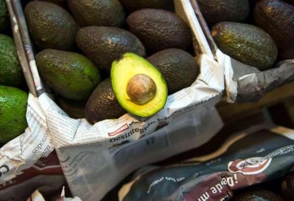 авокадо на прилавках