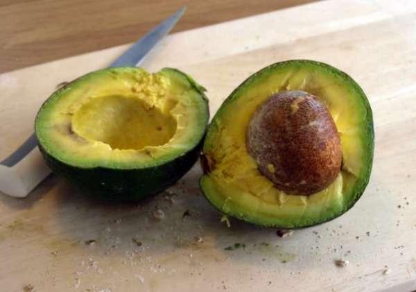 переспелый авокадо