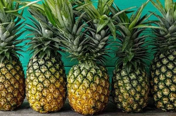 круглый ананас