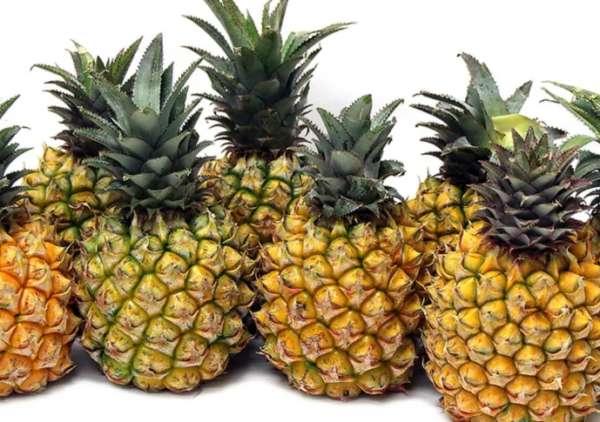 крупный ананас