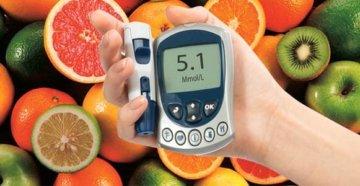 фрукты при сахарном диабете