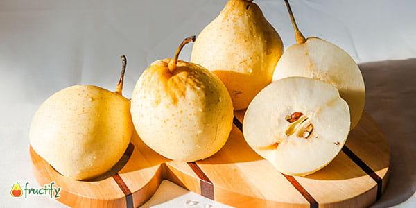 Китайская груша (нэши, хрустальная) калорийность, польза и вред
