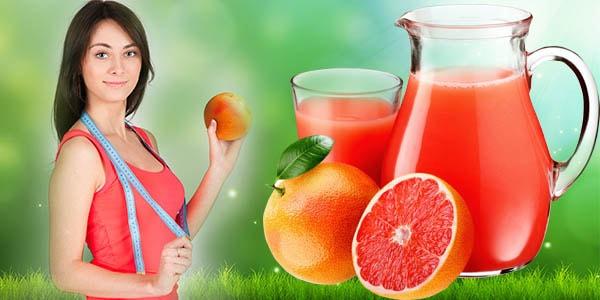 Девушка с грейпфрутом и сантиметром
