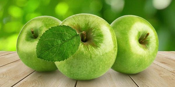 зеленые яблочки