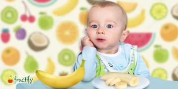как давать банан ребенку