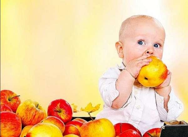 яблоки для малышей