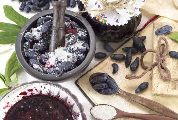 ягоды с сахаре