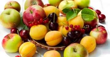 фрукты с железом